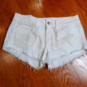 American Eagle Outfitters sequin front shorts